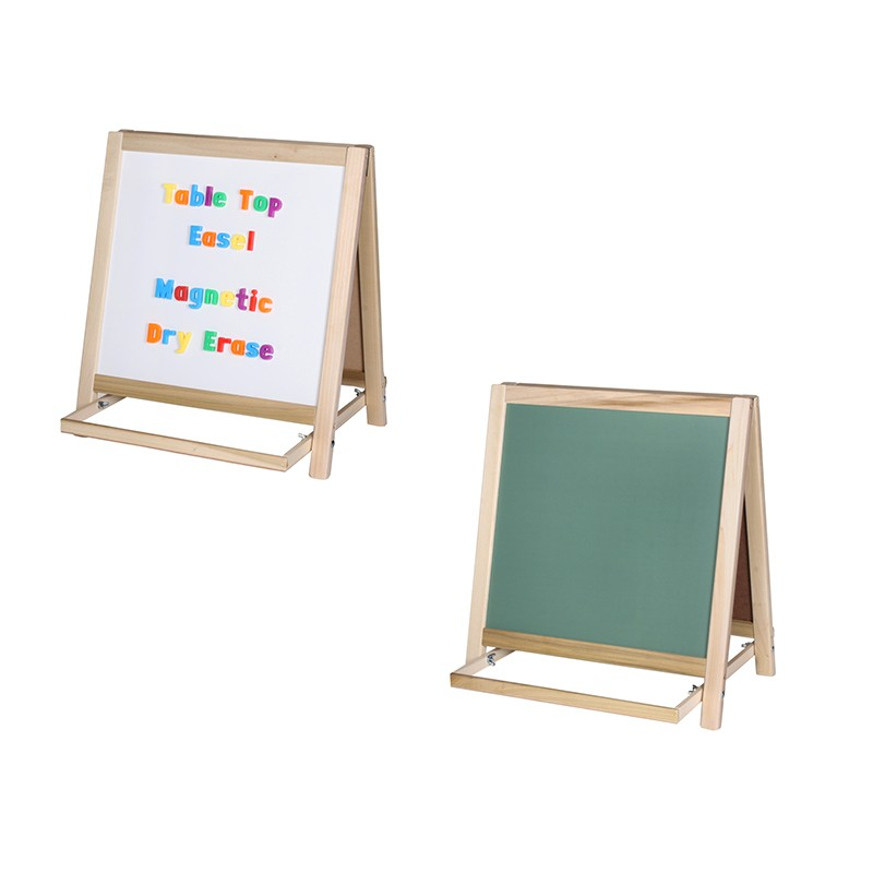 easel good dry erase top really p sided a table two magnetic tabletop